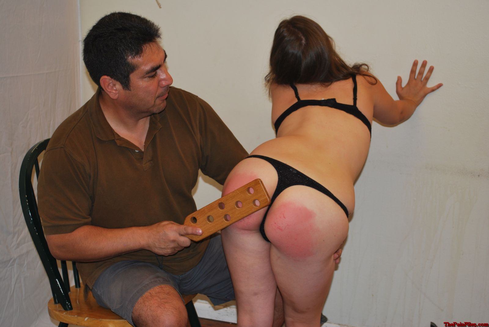 wife first spanking Amateur