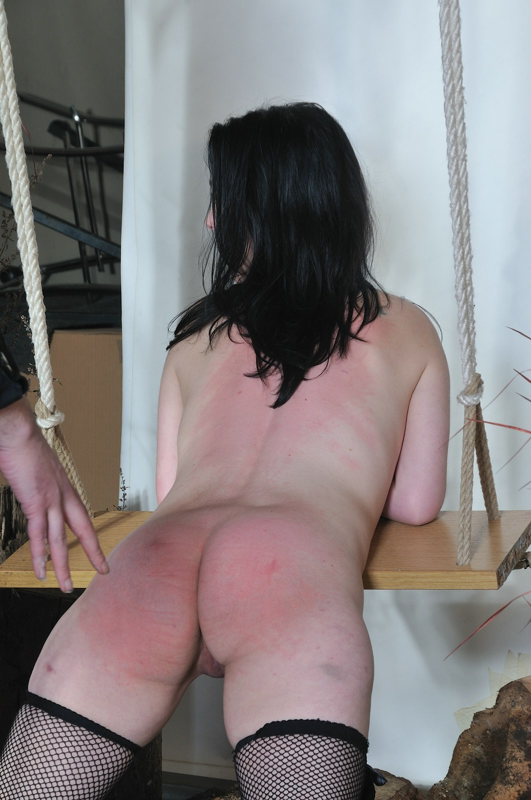Amateur slave is ordered to torture herself as punishment